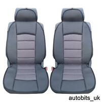 1+1  PREMIUM GREY BLACK Car Seat Covers Cushion PEUGEOT BOXER LUXURY MOTORHOME