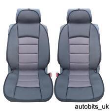 1=1  PREMIUM GREY BLACK Car Seat Covers Cushion FIAT DUCATO LUXURY MOTORHOME