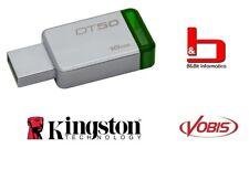 Kingston DataTraveler DT50 - 16 GB - Verde pen drive chiavetta in alluminio