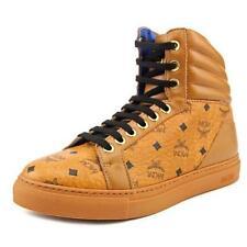 Scarpe sneakers in pelle beige per bambini dai 2 ai 16 anni