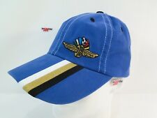Indianapolis Motor Speedway IMS Wing Wheel & Flags Logo Hat IndyCar Nascar