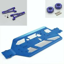 Kyosho DST/DBX blue / main chassis/ arms upper / wheel hub parts new in PACK