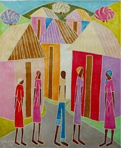 Haitian Painting Hilome Jose Haiti