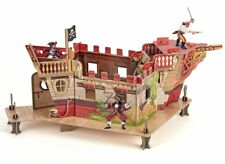 Papo Pirate Fort with 3 Figures 80403 32 Pieces
