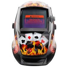 Welding Helmet Gamblers Black Auto Darkening Mig Tig Arc Welder Protective Mask