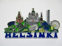 Helsinki Rubber Magnet Collage Souvenir Finnland Skandinavien