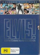 ELVIS! COLLECTION - 8 FILM BOXSET - 8 CLASSIC MOVIES - NEW & SEALED REGION 4 DVD