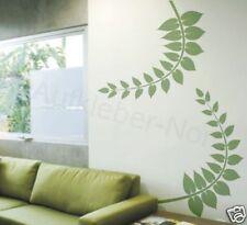 2x Fougère feuille plante Stickers muraux fleur sticker mural P6