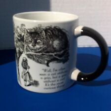 Alice in Wonderland Mug Disappearing Cheshire Cat Unemployed Philosophers Guild