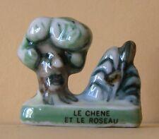 Fève Fables de La Fontaine 1995  Le Chêne & le Roseau