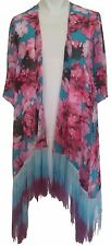 NEW Philosophy Republic Clothing Kimono Blouse Womens Size M - Pink A478