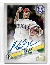 2018 Topps Gypsy Queen Matt Bush On Card Auto Autograph  #GQAMB Texas Rangers