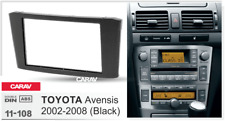 Car Stereo Fascia Dash Panel 2 Din Frame Trim Kit for TOYOTA Avensis 2002-2008