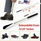 Shoe Horn Extra Long Handle Stainless Steel 25