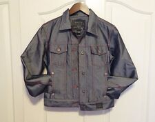 Guess Jeans Premium Denim Jacket Red Thread Vintage EUC