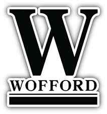 "Wofford Terriers University College NCAA Car Bumper Vinyl Sticker Decal 4""X5"""