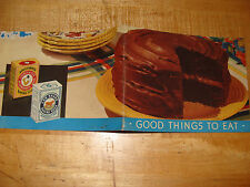 Good Things To Eat recipe booklet Arm & Hammer Baking Soda Cow Brand vintage