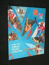 LONDON 2012 JO OLYMPIC GAMES J.O PANINI ALBUM VIDE VIERGE VUOTO LEER EMPTY