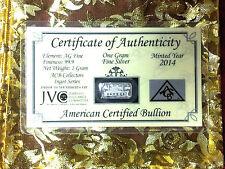 x10 ACB TITANIC ANNIVERSARY Limited Edition 999 Silver 1 Gram Bar COA RARE ^