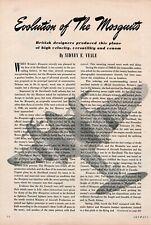 de Havilland Mosquito Aircraft report 1/31/2020n