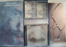 "JOHN LENNON ""CHRISTMAS PRESENT""3CD+3CASSETTE+BOOK BOX SET RARITIES-LIVE BEATLES"