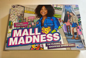 New Sealed Hasbro Electronic Mall Madness Shopping Spree Board Game E9827