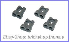 LEGO 4 x Jumelles Jumelles - 30162-Binoculars Dark Bluish Gray Neuf/New