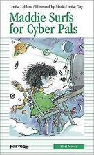 Maddie Surfs for Cyber-Pals (Formac First Novels)-ExLibrary