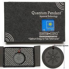 Quantum Pendant Necklace Scalar Orgon Energy neg ions EMF Magnetic Protection