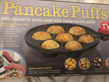 Cast Iron Pancake Puffs + Bonus Gifts Easy to Clean