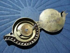 Rare French PERCUSSION CAP DISPENSER 1840`s - Paris - powder flask related