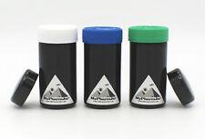 Miron Glass 100 Ml(3.3Oz) Tall Black Ultraviolet curing jar Freeshipping Violet