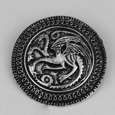 Hot Dragon Badge Pin Alloy Round Badge Brooch Male Fans Garment Accessories