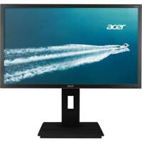 "Acer B6 23.8"" LED Widescreen LCD Monitor Full HD 1920x1080 6ms 60 Hz 250 Nit IPS"