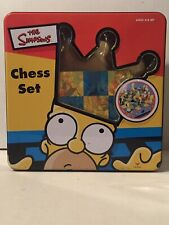 The Simpsons Chess Set