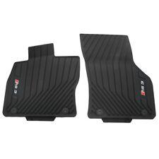 Gummi Fußmatten vorn Original Audi RS3 (8V) schwarz Allwettermatten 2er Satz OEM