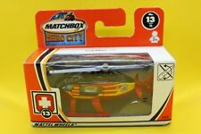 Matchbox MB 13 Hospital Helicopter (Hero City)
