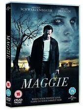 MAGGIE WITH LENTICULAR SLIPCASE ARNOLD SCHWARZENEGGER ABIGAIL BRESLIN UK DVD NEW