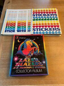 HUGE Vintage 80s Sticker Collection