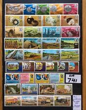 swaziland stamps 9 Unmounted Mint Sets (39 Stamps)Nice Catalogue Value (Lot741)
