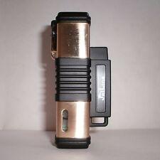 JetLine New York Quad Flame Torch Cigar Lighter - Gold - Special Deal