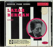 LAZAR BERMAN Russian Piano School Vol.8 LISZT 12 Etudes/Hungarian 9 CD Melodiya
