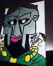 Mf Doom Canvas Painting Acrylic