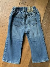 Polo Ralph Lauren Baby Boy Distressed Denim Jeans Size 24 Months Super Adorable!