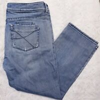 Tommy Bahama Womens Cropped Jeans Size US 12 UK 16 Blue Light Wash W36 x L24