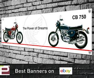Honda CB 750 Banner for Workshop, Garage, Showroom etc