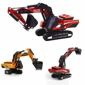 1:87 High Simulation Alloy Engineering Excavator Toy Alloy Digger Truck Car