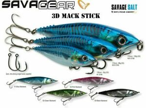 SAVAGE GEAR 3D MACK STICK READY TO FISH PREDATOR LURES - BARGAIN