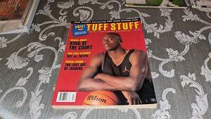 1992 Michael Jordan Chicago Bulls Tuff Stuff Magazine