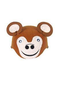 Monkey Hat Animal Zoo Jungle Farm Costume Fancy Dress Children World Book Day.